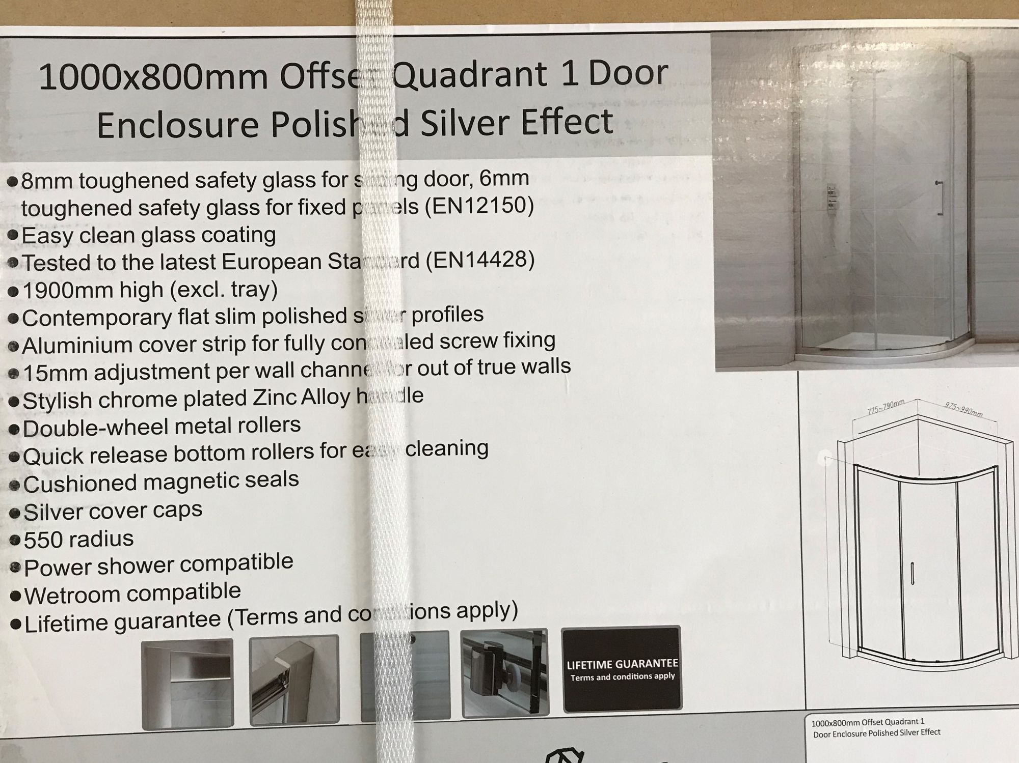 1 Door Quadrant