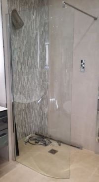 Curved Glass Panel