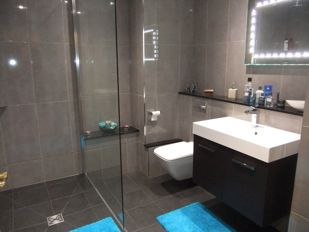 Modern Shower Room Installation At Curtis Bros
