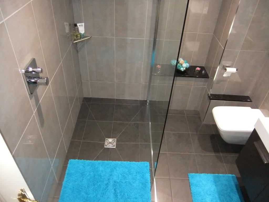 Modern Shower Room Installation At Curtis Bros