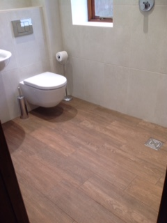 Easy Access Wet Room For Disabled Use At Curtis Brothers